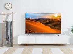 精于形 修于心 TCL P5超薄新曲面电视酷炫登场
