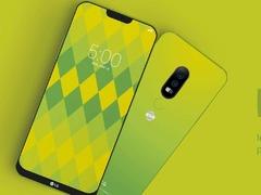 LG G7海报曝光 刘海异形屏 主打AI人工智能