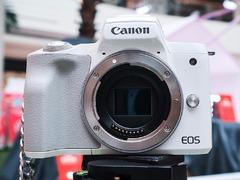佳能首款可拍摄4K的微单相机 EOS M50真机图赏