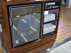 科技与艺术的碰撞 松下柜式洗衣机Cuble御铂系列实拍