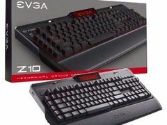 自带显示屏 采用凯华轴  EVGA 推出首款机械键盘