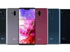 LG G7官方渲染图以及配置曝光 刘海屏搭载骁龙845