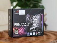 做工精致颜值高 华硕 STRIX B360-I GAMING 主板开箱
