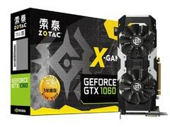 优惠促销 索泰 GTX 1060-6GD5 X-Gaming OC显卡热卖