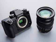 带肩屏的顶级APS-C无反相机 富士X-H1单机售13199元