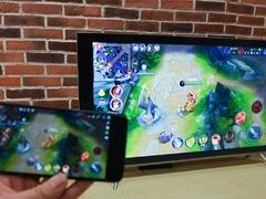 问答:怎么把手机直播画面投影到电视上看?