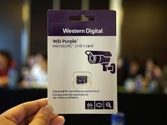 监控存储最后一片拼图 西部数据正式发布Purple MicroSD存储卡