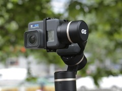 拍摄更稳更专业  飞宇G6运动相机稳定器初体验