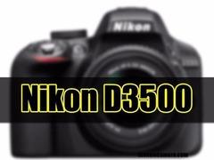 支持4K和高端单反对焦系统 尼康D3500或在8月发布?