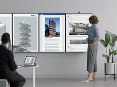 罗永浩改变世界的同时,微软发布了 Surface Hub 2