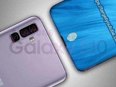 三星S10外观曝光 采用无边框曲面屏 或是首款100%屏占比手机