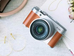 可拍摄4K 15P超清视频 富士X-A5套机仅售3999元