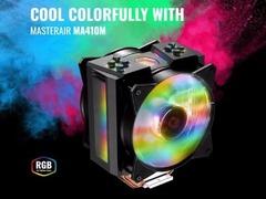 高颜值的塔式散热器!酷冷至尊发布MasterAir MA410M