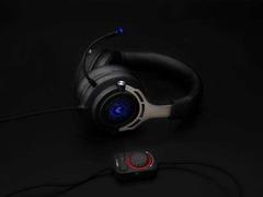 冰蓝之光 雷柏VH300虚拟7.1声道背光游戏耳机