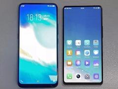 vivo两款划时代全面屏手机对比照曝光 NEX新机更具魅力