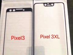 Google Pixel 3/3 XL贴膜曝光 网友:这设计是真的丑
