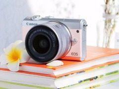 超时尚轻旅拍利器 粉色EOS M100邂逅一日美国时光
