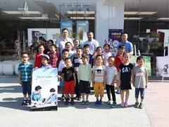 华为体验店六城联动过六一 围棋世界冠军现场互动