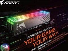 内存火爆  COMPUTEX 2018上技嘉推AORUS RGB DDR4-3200内存