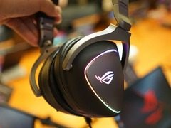 四颗独立ESS 9218助力吃鸡,华硕正式发布ROG DELTA电竞耳机