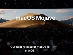 重头戏来了!macOS更新:黑暗模式+各种新功能,帅炸