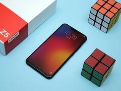 高颜值的新国民旗舰手机  90%屏占比  联想Z5图赏