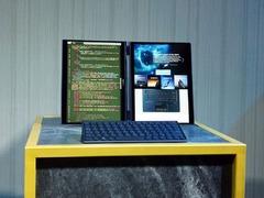 双屏AI概念之作 华硕展示PROJECT PRECOG概念笔记本