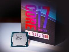 单核5.0GHz,免费送8086块,Intel今日正式发布i7-8086K