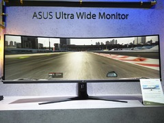 华硕台北展发布两款全新显示器:超宽屏高色准一个都不少