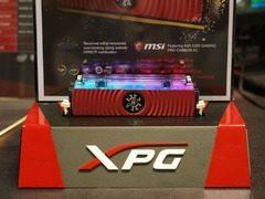 威刚发布众多新品 XPG液冷内存创造频率新纪录