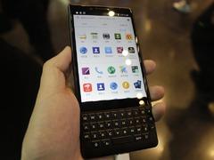 商务手机该有的模样 黑莓KEY2现场实拍