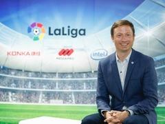 全球知名足球联赛——西甲CESA期间展示赛事幕后领先科技