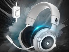 雷柏VH300虚拟7.1声道游戏耳机OMG定制版上市
