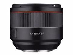 短小至极 三阳正式发布AF 85mm f/1.4佳能EF口镜头