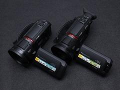 配24X光学变焦徕卡镜头 松下WXF1/VX1摄像机外观图赏
