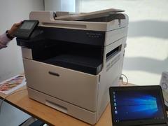 富士施乐SC2022彩色数码多功能机 中小企业的好选择
