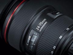 特殊双光圈设计 佳能EF 24-70mm f/2.8L新版设计曝光