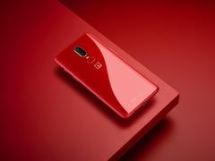 琥珀红配色一加6上线 7月9日0点开售
