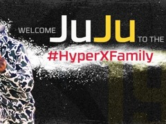 HyperX签约匹茨堡钢人队 朱朱 史密斯-舒斯特担任品牌代言人