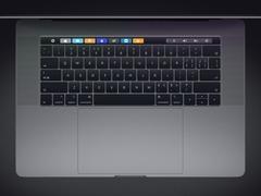 苹果第三代键盘设防灰硅胶片 专属2018款MacBook Pro
