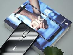 异形全面屏 双面2.5D玻璃机身 诺基亚 X5图赏