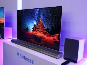 全面屏+新分体设计  乐视Unique系列电视现场图赏