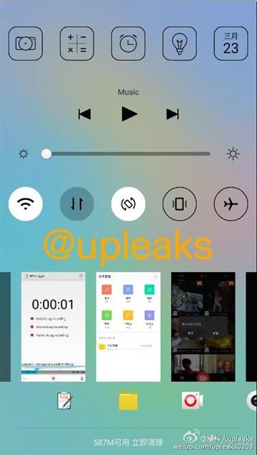 神似苹果UI 乐视超级手机系统界面曝光