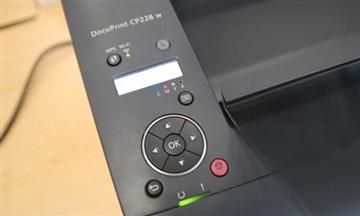 桌面彩激新选富士施乐新品CP228w试用