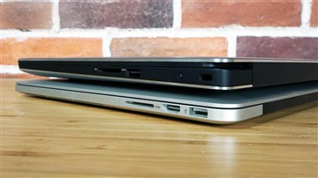 戴尔XPS 15对比苹果MBP