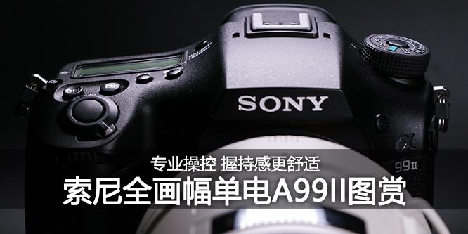 顶级操控 索尼全画幅单电A99II外观图赏
