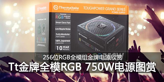 RGB高品质电源 Tt金牌全模数位RGB 750W欣赏