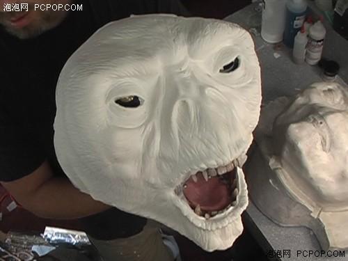 宝石娃娃粘贴手工制作面具