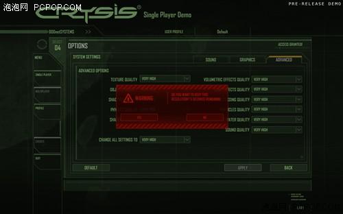 显卡绞肉机!Crysis全特效截图+简测