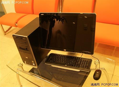 享受高清黑晶 畅游人评测 HP Pavilion a6305cn